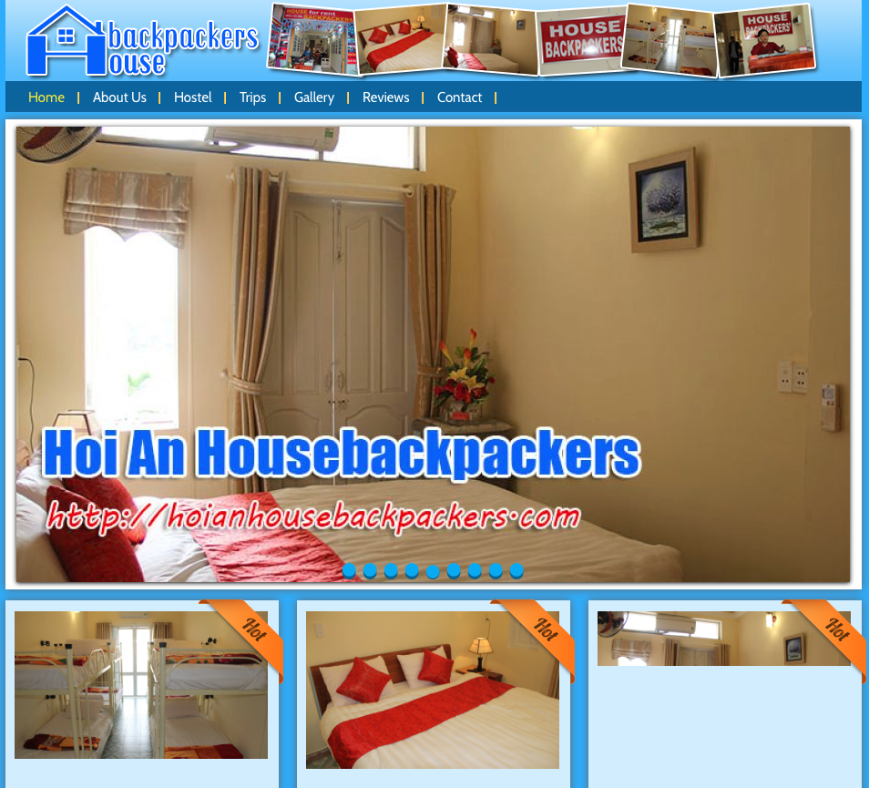hoian housebackpackers